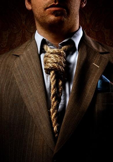 Удавка вместо галстука
