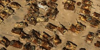 танковый могильник