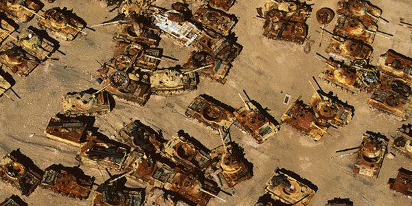 Сломаные танки