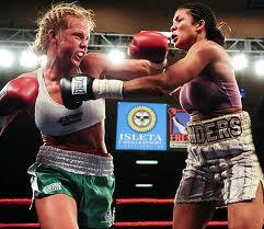 Боксеры-женщины дерутся