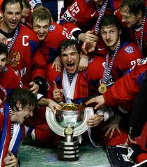 Российские чемпионы по хоккею