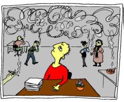 Пассивное курение вредно