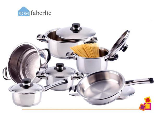 Металлическая посуда Фаберлик