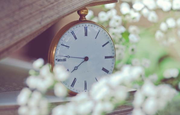 часы на цепочке
