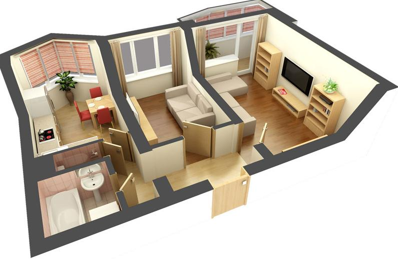 Схема квартир в питере