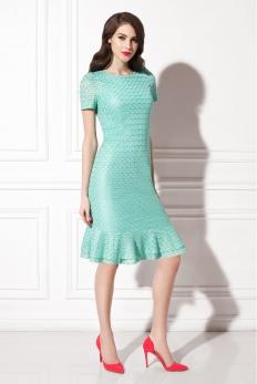 Платье ментоловое WSS14