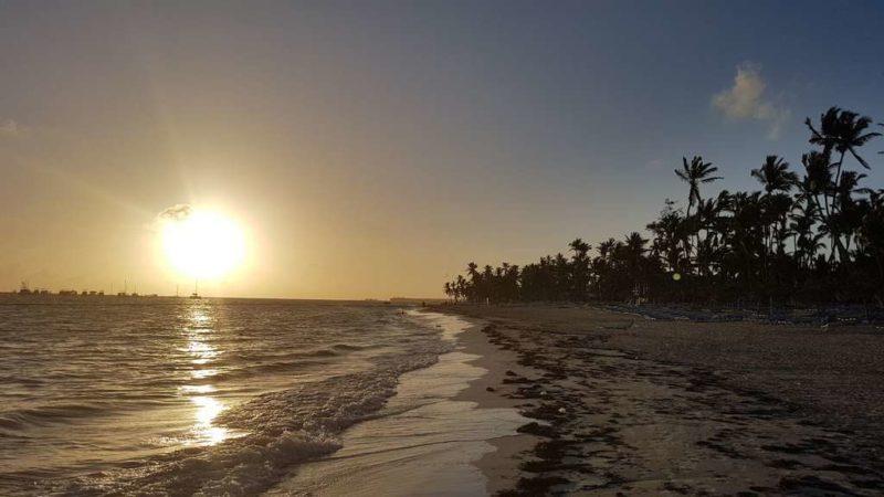 Расссвет на пляже
