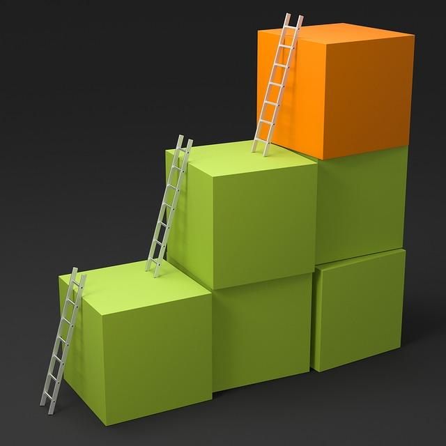 Кубы и лестницы