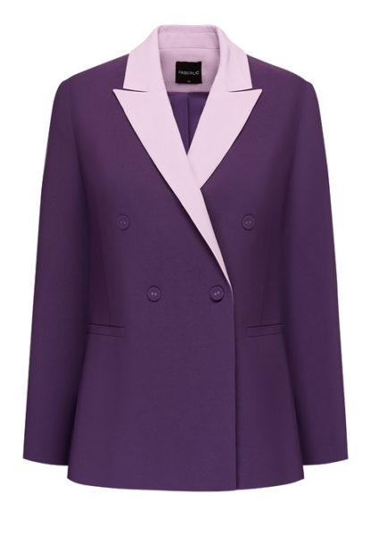 Жакет фиолетовый
