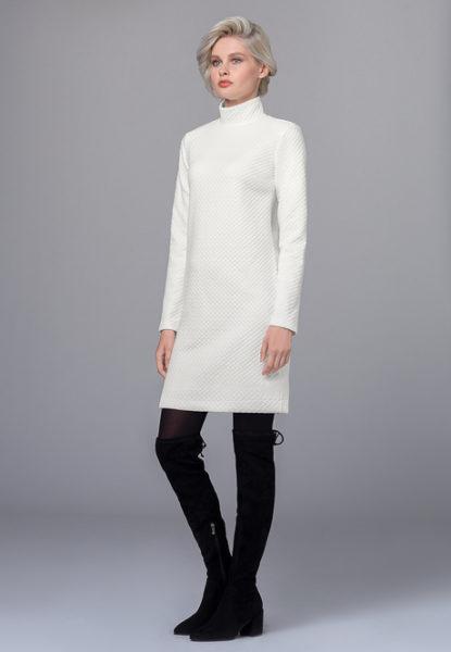 Платье полисатин