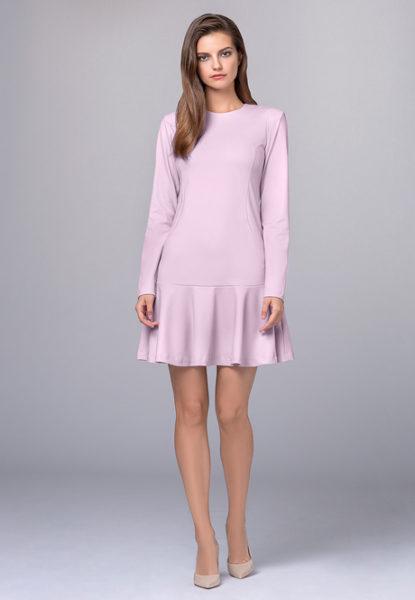 Платье стрейч-креп