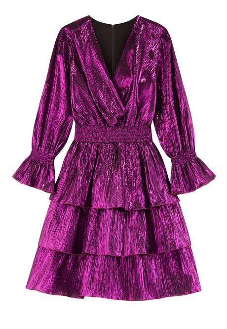 Платье ламе